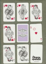 Collectable Advertising Swedish playing cards  Esselte Wensbo,